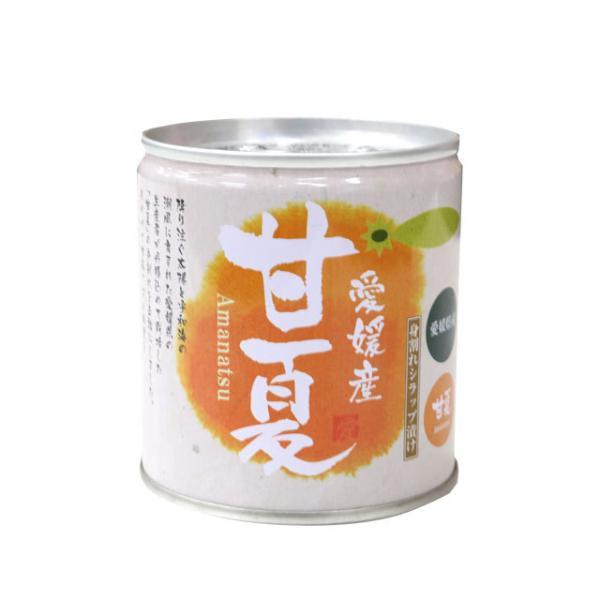 愛媛産 甘夏(身割・シロップ漬け)295g(固形量170g)【N】