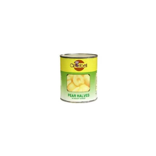 【N】グランベル 洋ナシシロップ漬け 2号缶(825g)