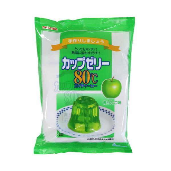 カップゼリー 青りんご 200g×3 (かんてんぱぱ)
