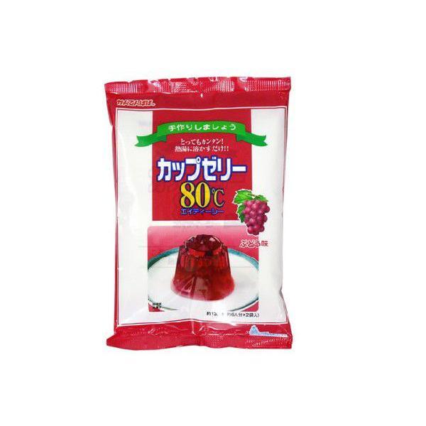 カップゼリー ブドウ 100g×2入(かんてんぱぱ)