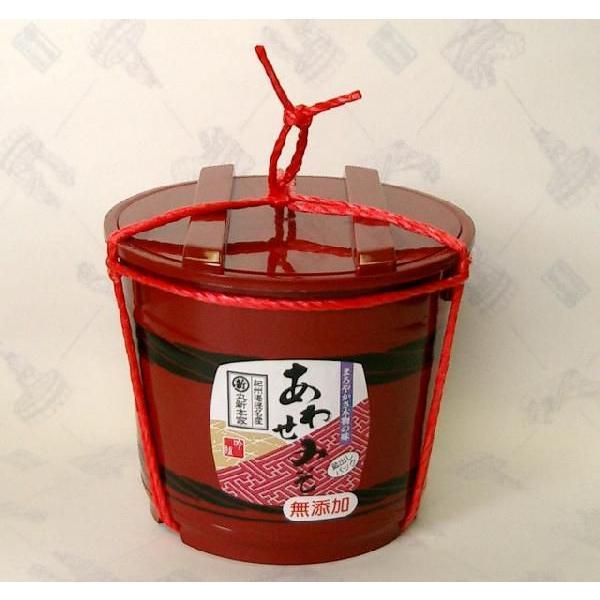 あわせみそ 2kg樽 国産原料使用☆一番人気☆赤と白のミックス【丸新本家・湯浅醤油】