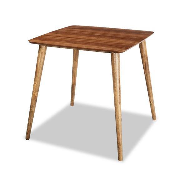 Tomteトムテ 木製ダイニングテーブル 75×75cm 2人用 1人用 ワンルームや一人暮らし・ご夫婦にも|marusyou|02