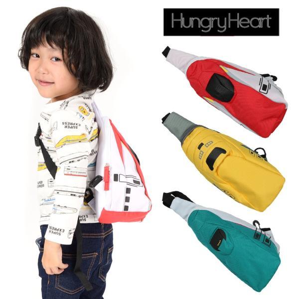 【子供服】 Hungry Heart (ハングリーハート) JR電車新幹線ワンショルダー・ボディバック FREE B57696|marutaka-iryo