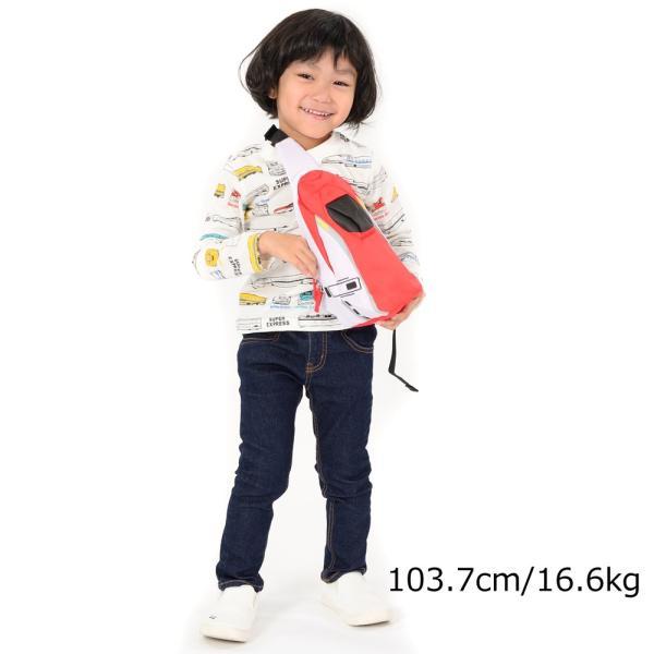 【子供服】 Hungry Heart (ハングリーハート) JR電車新幹線ワンショルダー・ボディバック FREE B57696|marutaka-iryo|10