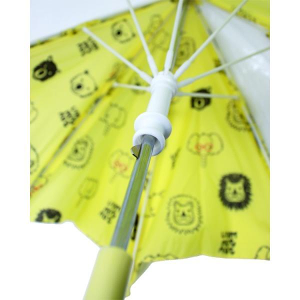 【子供服】 moujonjon (ムージョンジョン) 動物・お花柄窓付かさ・傘 SS〜M B81844|marutaka-iryo|03
