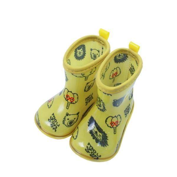 【子供服】 moujonjon (ムージョンジョン) 動物・お花柄レインシューズ 13cm〜20cm B81845|marutaka-iryo|04