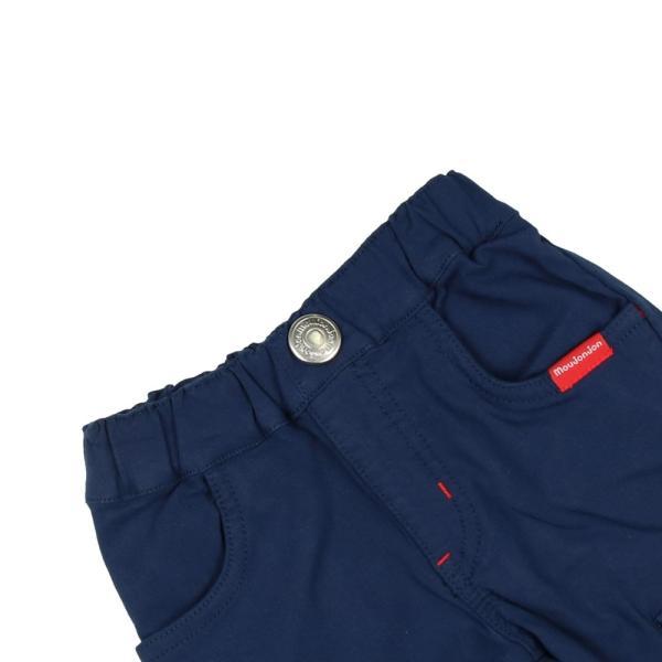 【子供服】 moujonjon (ムージョンジョン) のびふわツイルカーゴパンツ 80cm〜130cm M11000|marutaka-iryo|07