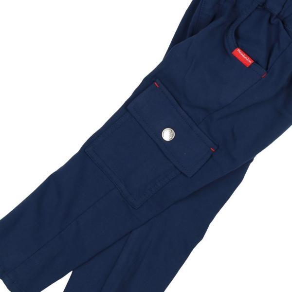 【子供服】 moujonjon (ムージョンジョン) のびふわツイルカーゴパンツ 80cm〜130cm M11000|marutaka-iryo|08