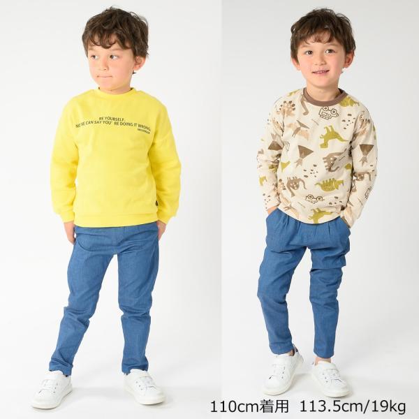 おそろい:キッズ 子供服 moujonjon (ムージョンジョン) チェック柄・無地パンツ 80cm〜140cm m13007|marutaka-iryo|16