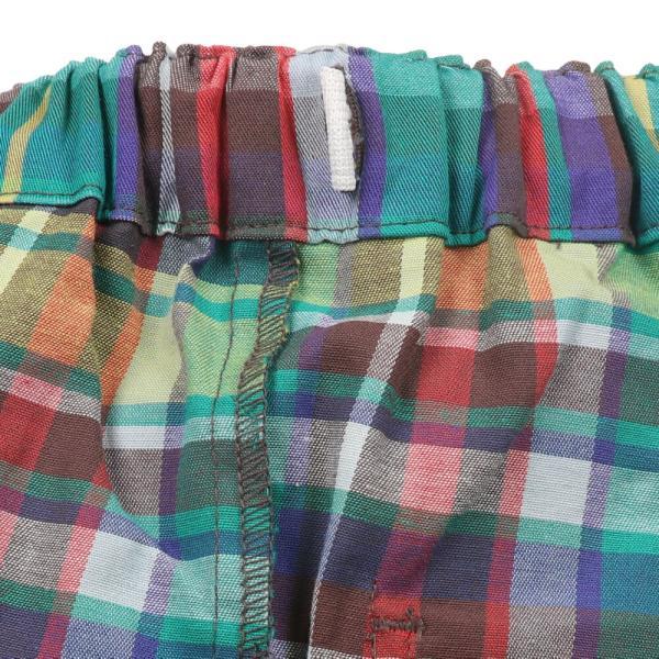おそろい:キッズ 子供服 moujonjon (ムージョンジョン) チェック柄・無地パンツ 80cm〜140cm m13007|marutaka-iryo|10