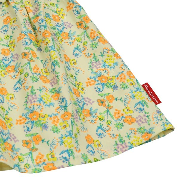 キッズ 子供服 moujonjon (ムージョンジョン) リボンフリル付き花柄チュニックワンピース 80cm,90cm m32311 marutaka-iryo 07