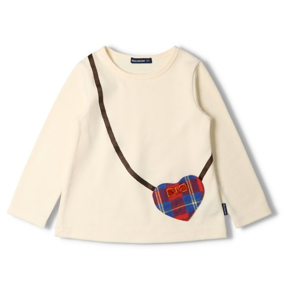 【子供服】 moujonjon (ムージョンジョン) キャミ重ね着Tシャツ 70cm〜140cm M54824|marutaka-iryo|02