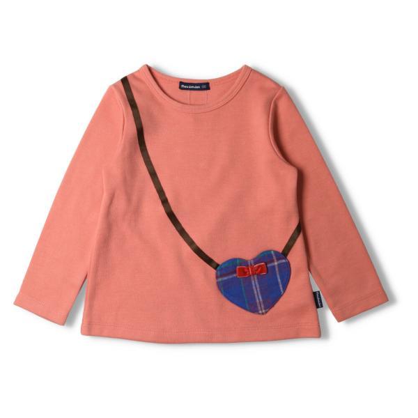 【子供服】 moujonjon (ムージョンジョン) キャミ重ね着Tシャツ 70cm〜140cm M54824|marutaka-iryo|03