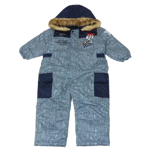 30%OFF:子供服 moujonjon (ムージョンジョン) デニム風スノーコンビ・スキーウェア 90cm〜120cm M60191 marutaka-iryo 03