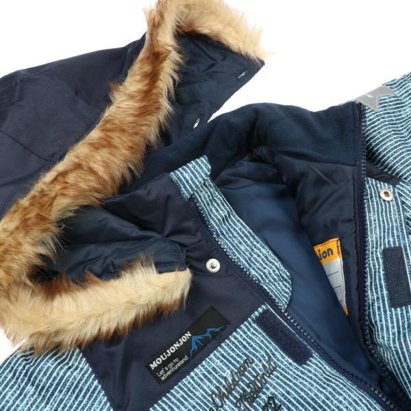 30%OFF:子供服 moujonjon (ムージョンジョン) デニム風スノーコンビ・スキーウェア 90cm〜120cm M60191 marutaka-iryo 06