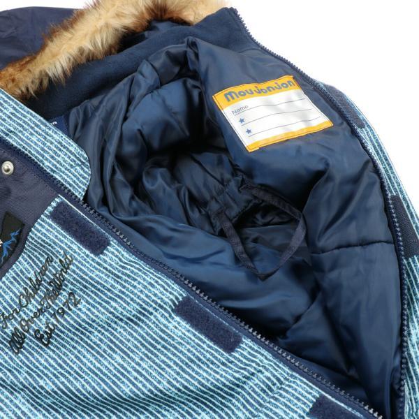 30%OFF:子供服 moujonjon (ムージョンジョン) デニム風スノーコンビ・スキーウェア 90cm〜120cm M60191 marutaka-iryo 07