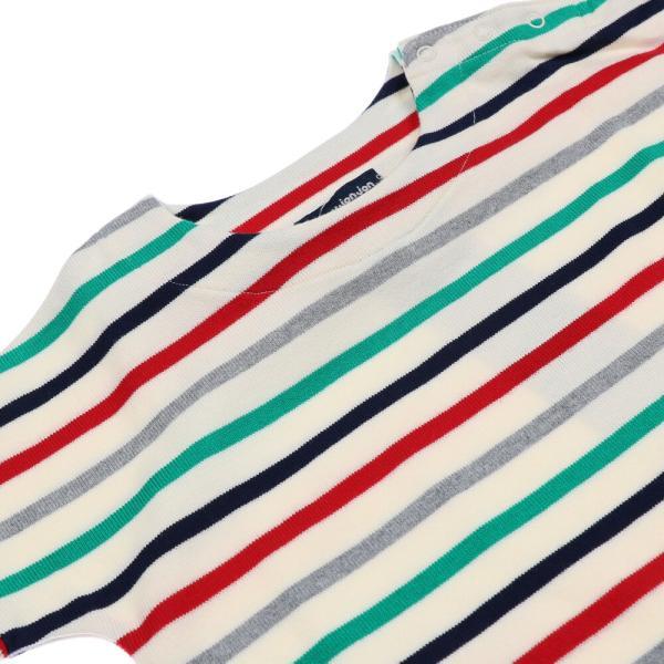 子供服 moujonjon ムージョンジョン ネット限定日本製ボーダーワンピース 80cm〜140cm M60350 限定販売|marutaka-iryo|03