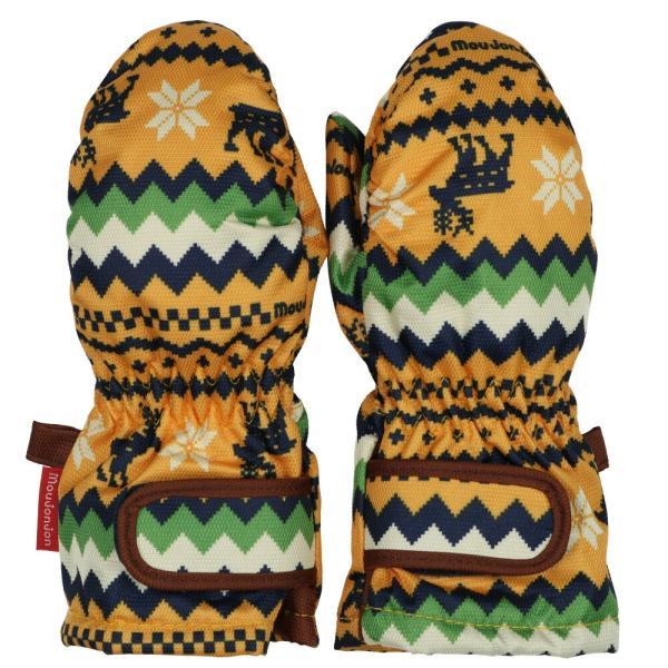 クーポン対象:30%OFF:【子供服】 moujonjon (ムージョンジョン) デニム風・ノルディック・星柄スノーグローブ・手袋 S,M M61891 marutaka-iryo 05