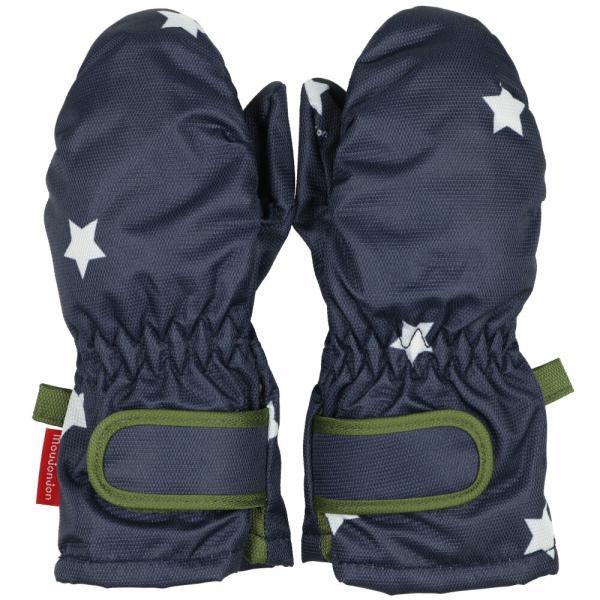 クーポン対象:30%OFF:【子供服】 moujonjon (ムージョンジョン) デニム風・ノルディック・星柄スノーグローブ・手袋 S,M M61891 marutaka-iryo 07