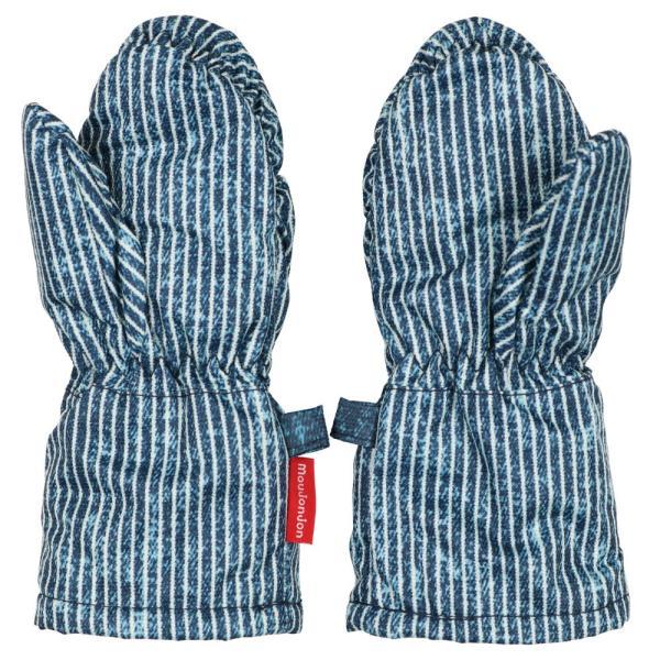 クーポン対象:30%OFF:【子供服】 moujonjon (ムージョンジョン) デニム風・ノルディック・星柄スノーグローブ・手袋 S,M M61891 marutaka-iryo 08