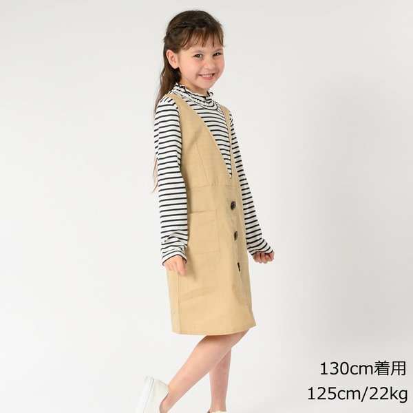 20夏セール キッズ 子供服 WILL MERY (ウィルメリー) トレンチ風ワンピース 80cm〜130cm n22301 marutaka-iryo 11