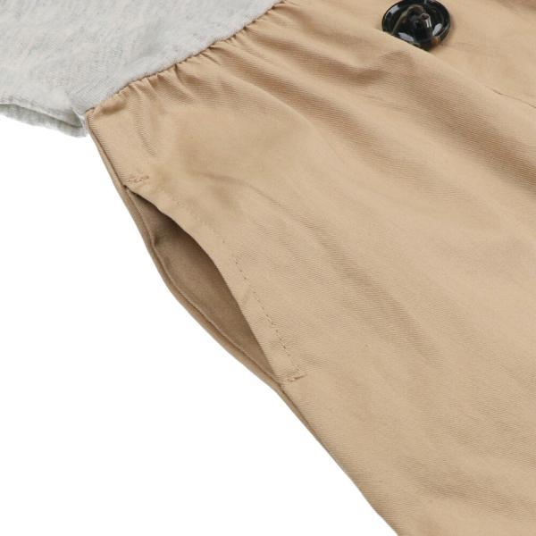 20夏セール キッズ 子供服 WILL MERY (ウィルメリー) トレンチ風ワンピース 80cm〜130cm n22301 marutaka-iryo 07