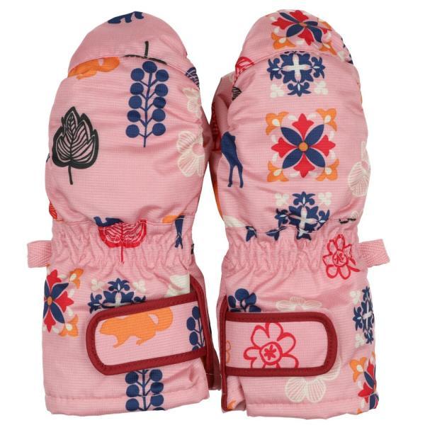 子供服 Mialy mail ミアリーメール 防水加工北欧柄エステルスノーグローブ・手袋・ミトン S,M N97850 marutaka-iryo 03