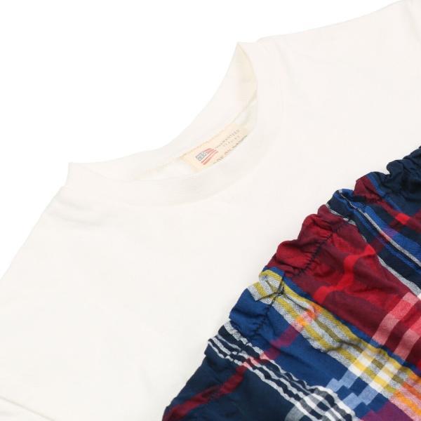 <50%OFF>20夏セール【子供服】 Daddy Oh Daddy (ダディオダディ) チェック柄切替チュニックTシャツ 80cm〜150cm V32833 marutaka-iryo 05
