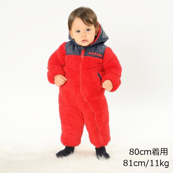 子供服 Daddy Oh Daddy ダディオダディ ボアカバーオール・ジャンプスーツ 70cm,80cm V50711|marutaka-iryo|11