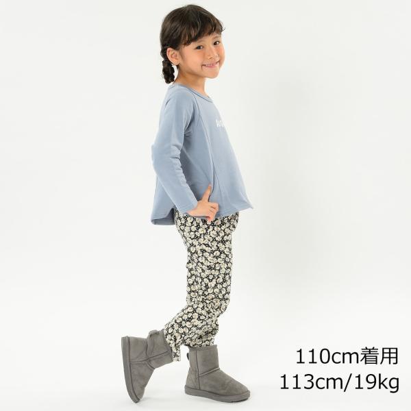 【子供服】 Jolly Jury (ジョリージュリー) ネット限定ロゴプリントフレアートレーナー 80cm〜130cm Z50614|marutaka-iryo|11