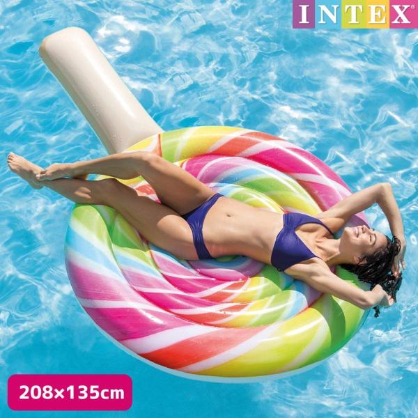 フロート ロリポップフロート キャンディー 208×135cm INTEX インテックス