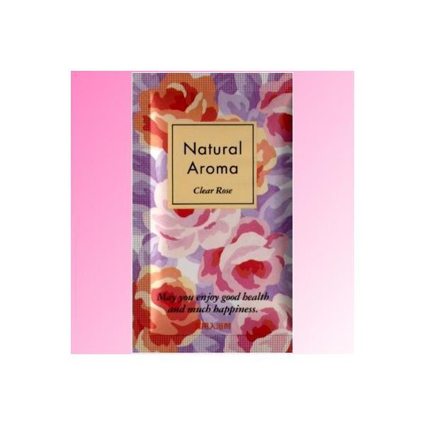 薬用入浴剤 ナチュラルアロマ クリアーローズ 日本製 40個セット|marutto-markets