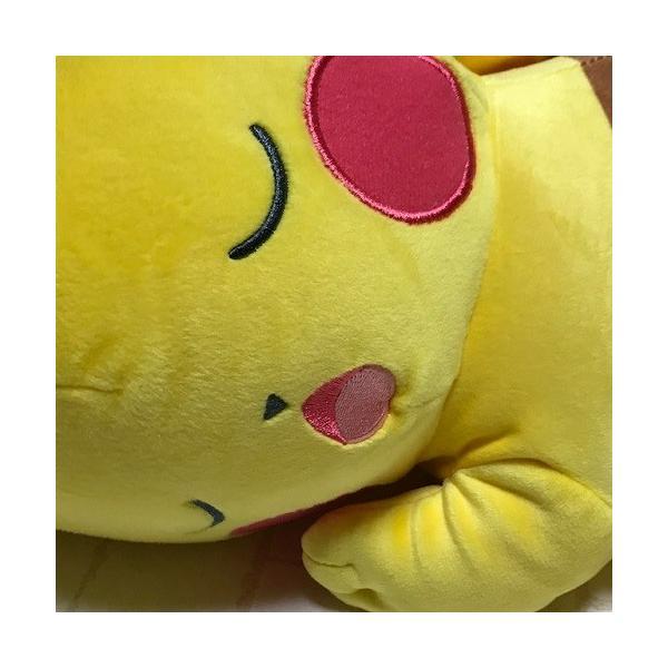 ピカチュウ すやすやフレンド Lサイズ ぬいぐるみ 517069-287725【Pocket Monsters/Pokemon/ポケットモンスター/ポケモン/ピカチュー/ヌイグルミ】|maruwa1923|02