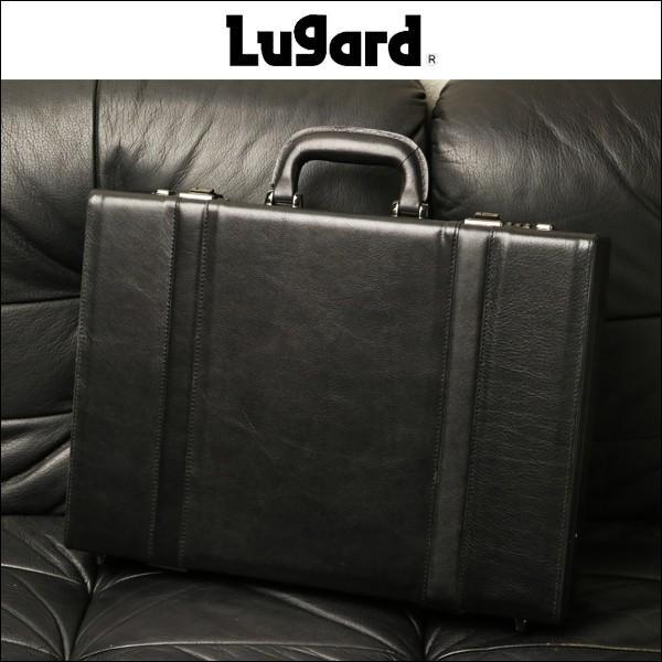 Lugard ビジネスシーンを彩る 貫禄ある上質レザーアタッシェケース 本革   革