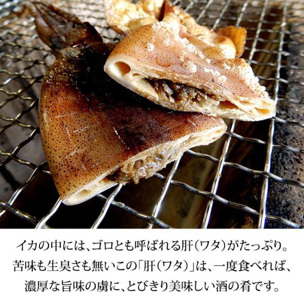 (福井県産)熟成わた入り 丸干しイカ(もみいか):3〜5枚入り×1袋|maruya|04