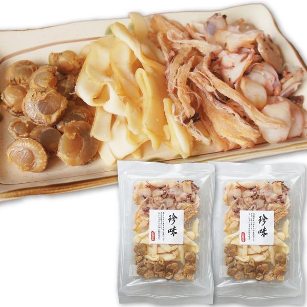 イカ・ホタテ珍味 4点セット 240g おいしさ引き立つ函館の味覚|maruyuugyogyoubu