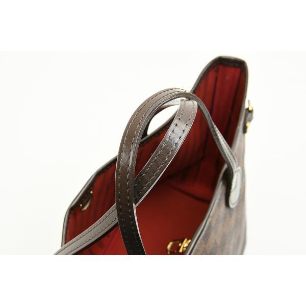 ルイヴィトン LOIUS VITTON ネヴァーフルPM トートバッグ ダミエ 旧型 N51109 ポーチなし 中古品 程度AB 中古 送料無料 動画 Youtube|maruzen-cocoone|08