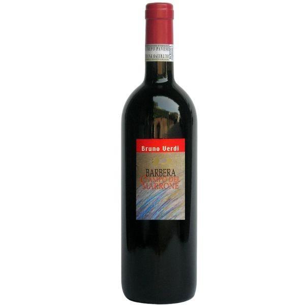 ブルーノ ヴェルディ バルベーラ カンポ デル マッロネ 2015 バルベーラ 100% フルボディ イタリア 赤ワイン 750ml|marwell