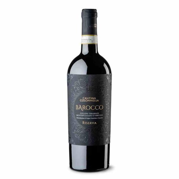 コロッネッラ バロッコ リゼルバ モンテプルチアーノ ダブルッツォ 2013 モンテプルチアーノ 100% フルボディ イタリア 赤ワイン 750ml|marwell