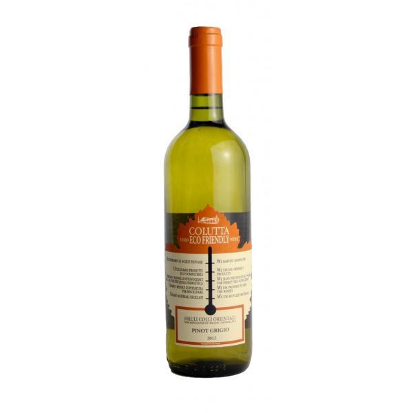 コルッタ ピノグリージョ(エコフレンドリーワイン) ピノグリージョ 100% 辛口 イタリア フリウリヴェネツィアジューリア 白ワイン 750ml marwell 03
