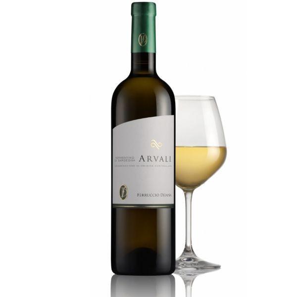 フェルルッチョ デイアーナ  アルヴァーリ 2017 ヴェルメンティーノ・ディ・サルデーニャ 100%  辛口 イタリア 白ワイン 750ml marwell