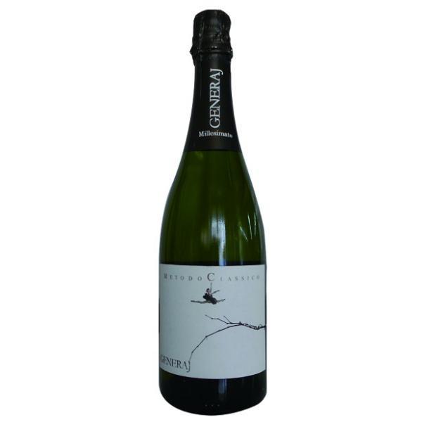 ジェネライ メトード クラシコ ブリュット ミレジマート 2013 辛口 イタリア 発泡性白ワイン 750ml|marwell