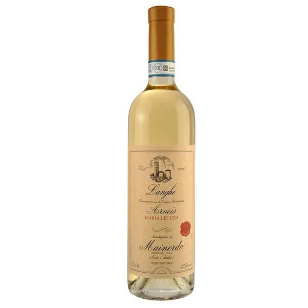 イタリア 白ワイン | ランゲ アルネイス マリア レティツィア 2017 (マイネルド ) アルネイス 100% 辛口 750ml|marwell