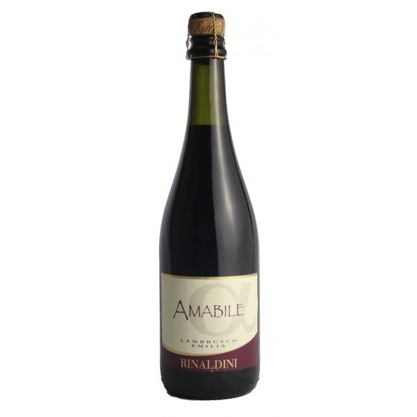 リナルディー二 ランブルスコ エミリア アマービレ  ランブルスコサラミーノ 中甘口 イタリア スパークリングワイン 微発泡性赤ワイン 750ml|marwell