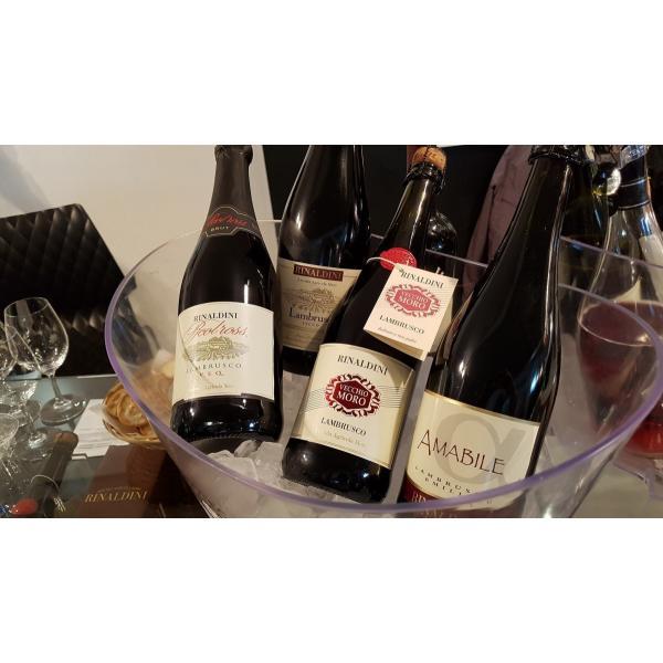 リナルディー二 ランブルスコ エミリア アマービレ  ランブルスコサラミーノ 中甘口 イタリア スパークリングワイン 微発泡性赤ワイン 750ml|marwell|03