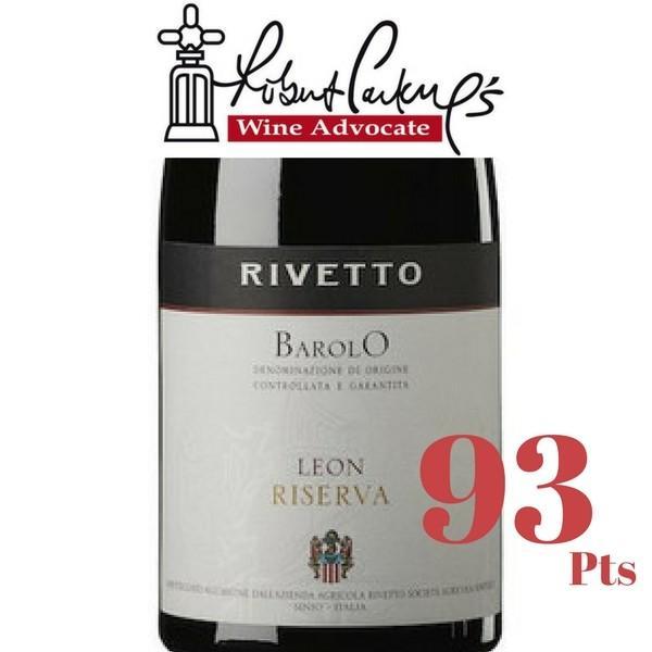リベット バローロ レオン リゼルヴァ  ネッビオーロ 100% フルボディ イタリア ピエモンテ 赤ワイン 750ml|marwell