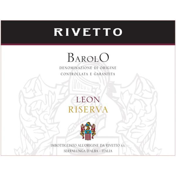 リベット バローロ レオン リゼルヴァ  ネッビオーロ 100% フルボディ イタリア ピエモンテ 赤ワイン 750ml|marwell|04
