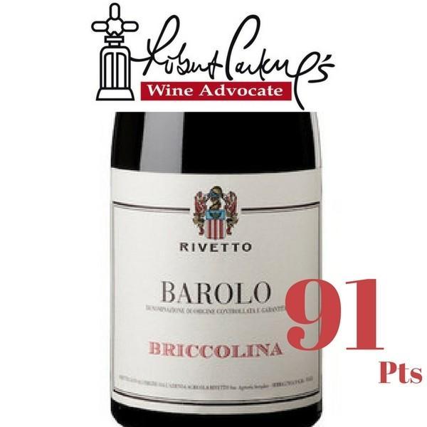 リベット バローロ ブリッコリーナ 2009 ネッビオーロ 100% フルボディ イタリア ピエモンテ 赤ワイン 750ml|marwell