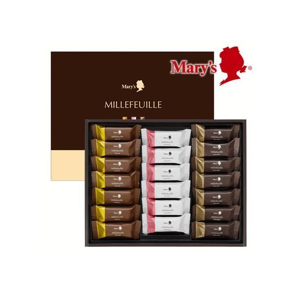 焼菓子ギフトミルフィーユ20個入 メリーチョコレート 美味しいハーモニー詰め合わせ