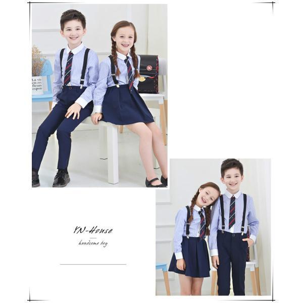 学生服制服スーツアップ女の子スカート子供服シャツ女子高生卒業式 入学式4点のセット|masamasa777|04